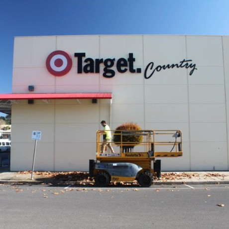 Target building restored after high pressure cleaning by Aatach